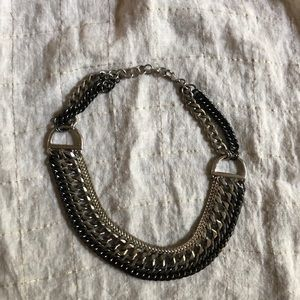 Stella and dot link chain statement piece